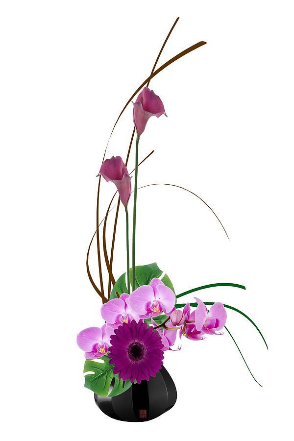 600x900 Japanese Floral Arrangement