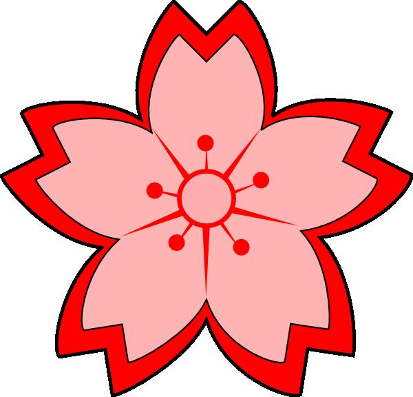 600x576 Sakura Clip Art