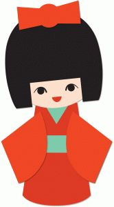 166x300 Japan Clipart Japanese Doll