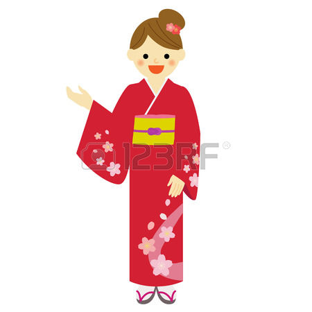 450x450 Kimono Clipart Japanese Kimono