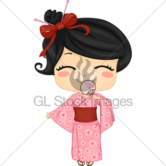 325x325 Little Chinese Girl Wearing National Costume Cheongsam Gl Stock
