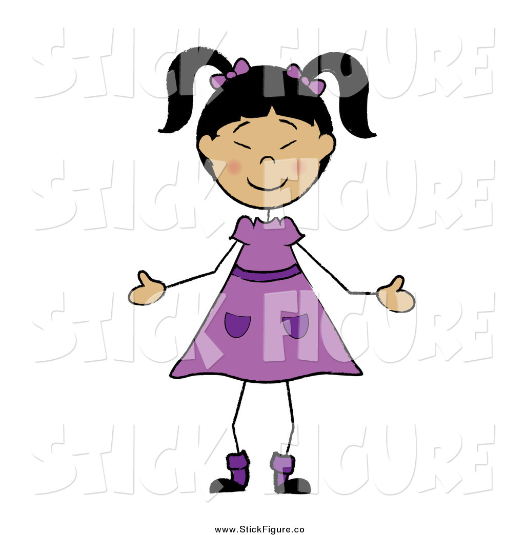 1024x1044 Royalty Free Japanese Girl Stock Stick Figure Designs