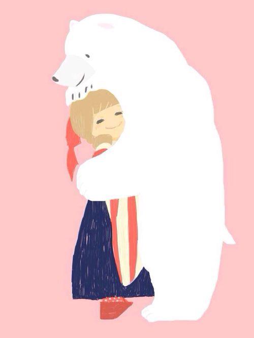 500x667 Best Hug Illustration Ideas Hug, Bear