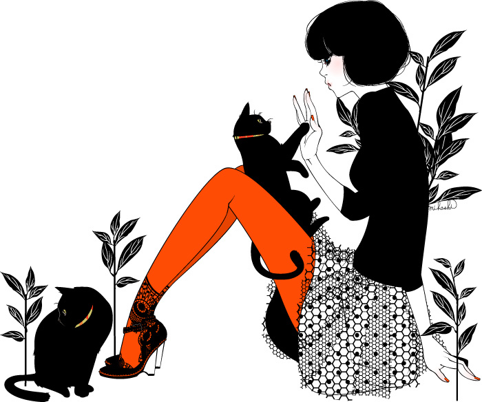 700x584 Girls That Play With Cats Have More Time To Read. Coisas Legais