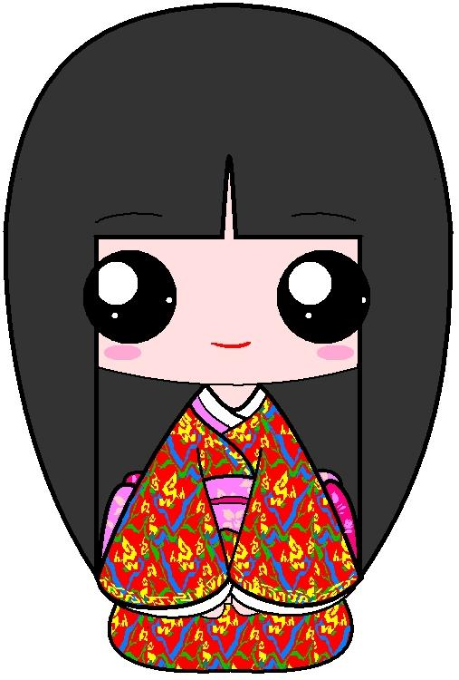 507x750 New Year Japanese Girl By I Dont Draw