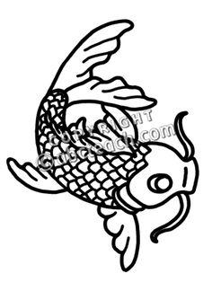 236x314 Japanese Carp Clip Art Design Cliparts