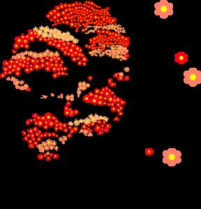 288x299 Japanese Cherry Blossom Tree Clip Art