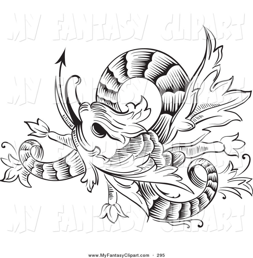 1024x1044 Royalty Free Black And White Stock Fantasy Designs