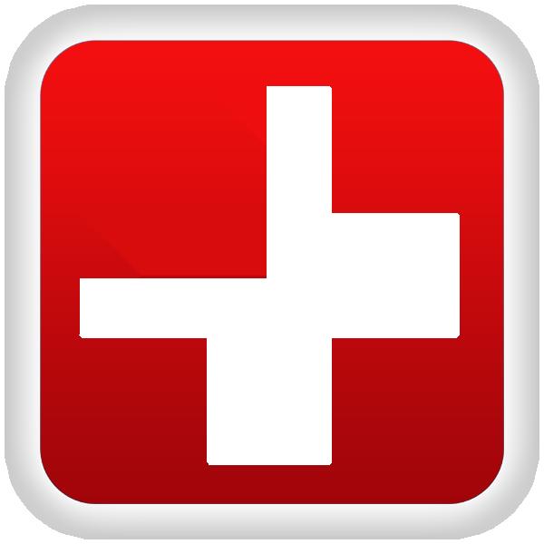 600x600 Hospital Symbols Clip Art