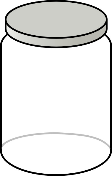 378x593 Clear Jar Clip Art
