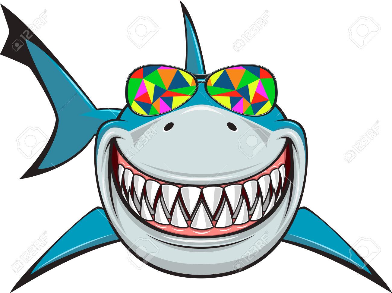 1300x972 Fins Clipart Shark Head