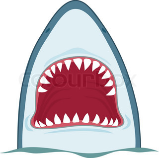 320x318 Shark Head Clip Art