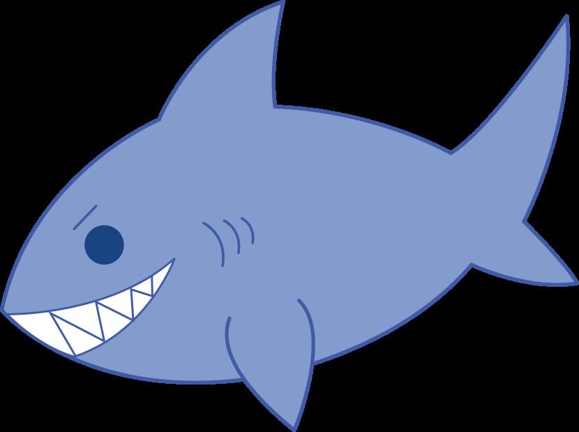 830x619 Shark Bmp Clipart