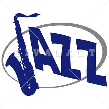 361x361 Clipart Of Jazz Logo