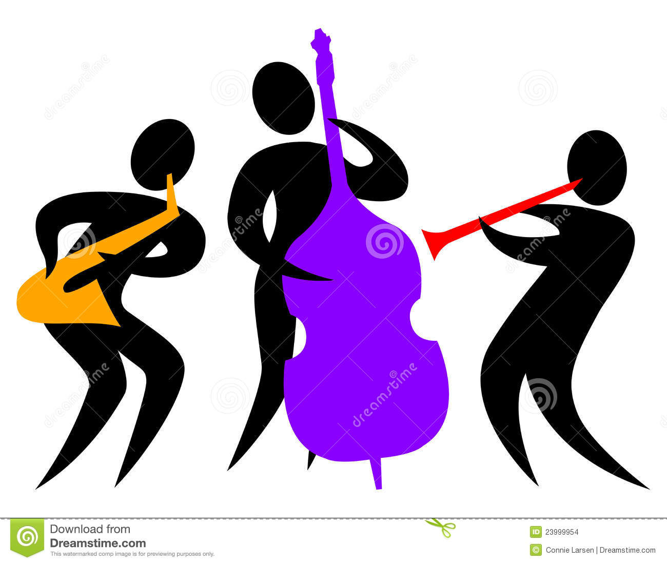 1300x1099 Jazz Band Clipart