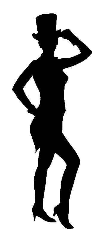 308x795 Jazz Dancer Clipart