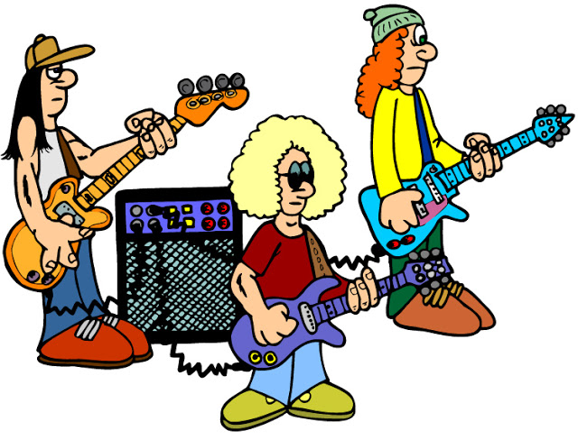 640x488 Band Clipart