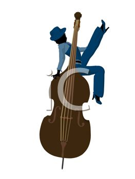 263x350 Royalty Free Clip Art Image Silhouette Of A Jazz Woman Sitting