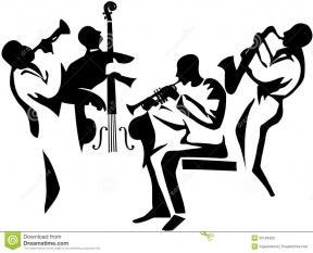 288x233 Free Jazz Band Clip Art