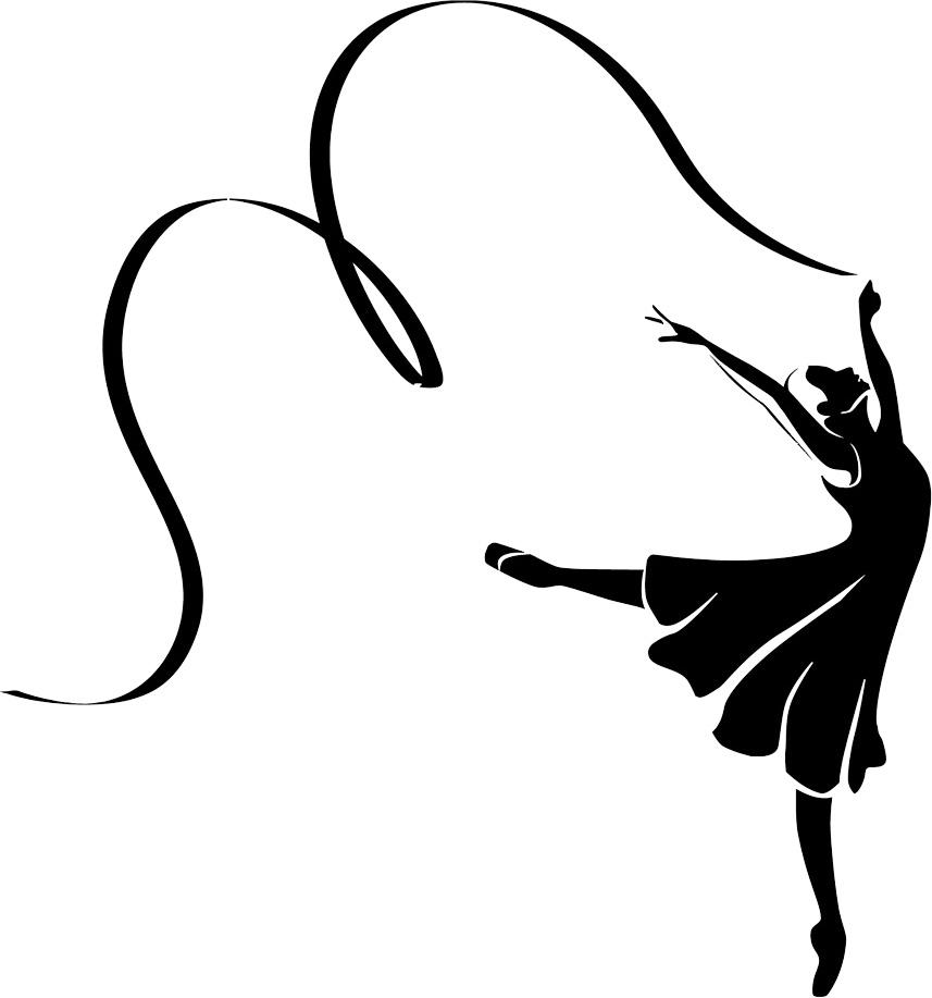 857x917 Dance Silhouette Clip Art
