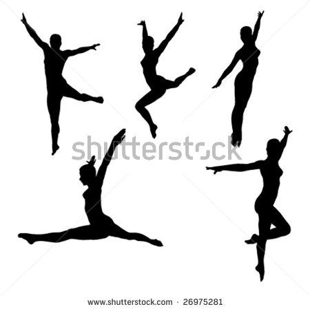 450x449 Modern Dance Clip Art Cliparts