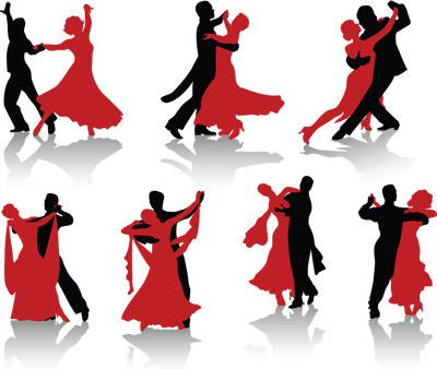 400x338 Jazz Dance Silhouette Free Vector Download (5,728 Free Vector)