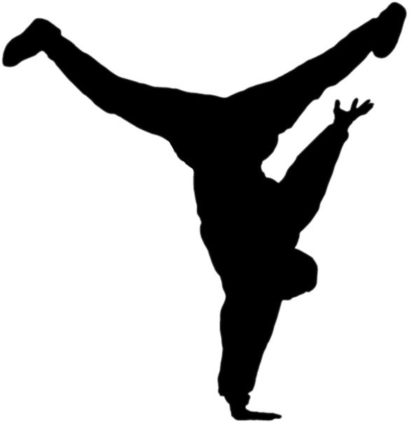 584x605 Jazz Dancer Clipart Silhouette Free Images