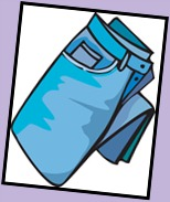 154x183 Jeans Clipart Folded