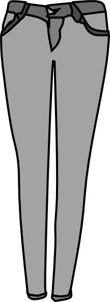 216x591 Jeans Clipart Skinny Jeans
