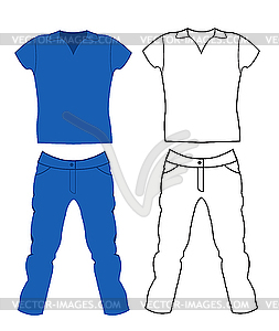 253x300 And T Shirt. Men`s Clothing