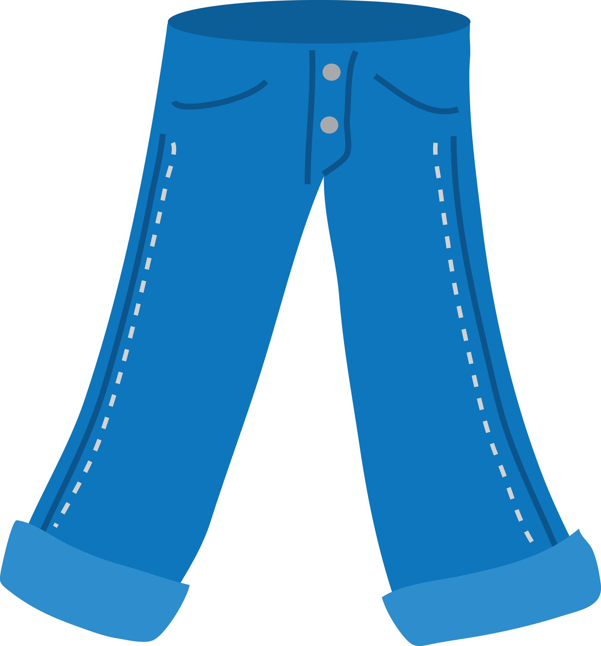 2000x2151 Blue Jeans Clip Art