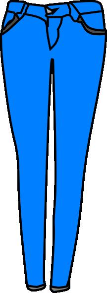 216x591 Denim Clipart Blue Jeans