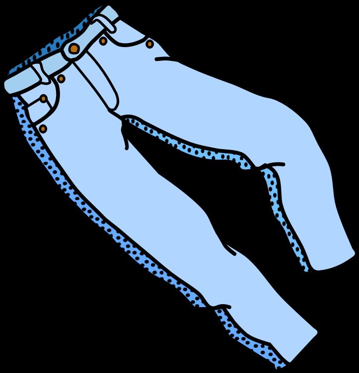 724x753 Free Blue Jeans Clip Art Clipart Panda