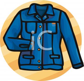 350x340 Jeans Clipart Blue Jacket