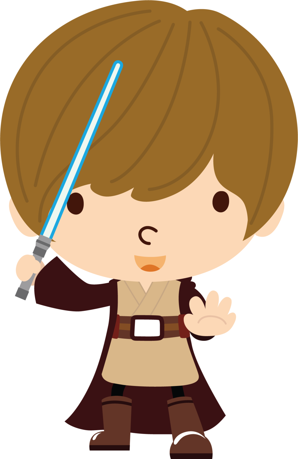 1024x1580 Luke Skywalker Clipart Jedi