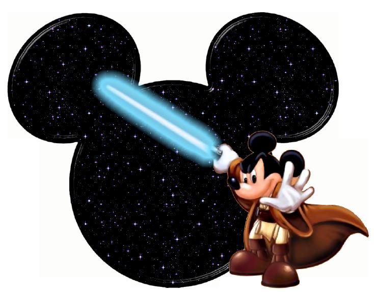 734x573 Mickey Mouse Clipart Jedi