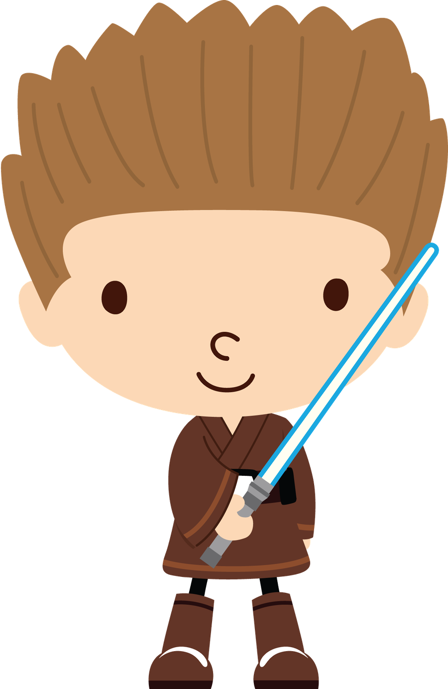 900x1383 Star Wars Clipart Jedi
