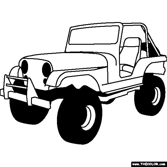 Jeep Clipart Black And White | Free download best Jeep Clipart Black ...