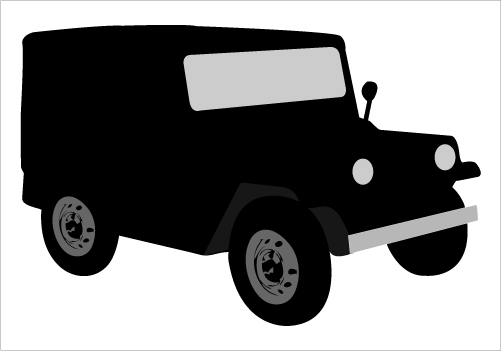Christmas Jeep Silhouette.Jeep Clipart Black And White Free Download Best Jeep
