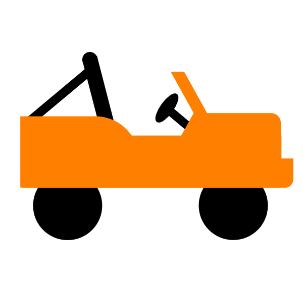 600x557 Cartoon Jeep Clipart