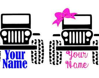 340x270 Jeep Decal Etsy