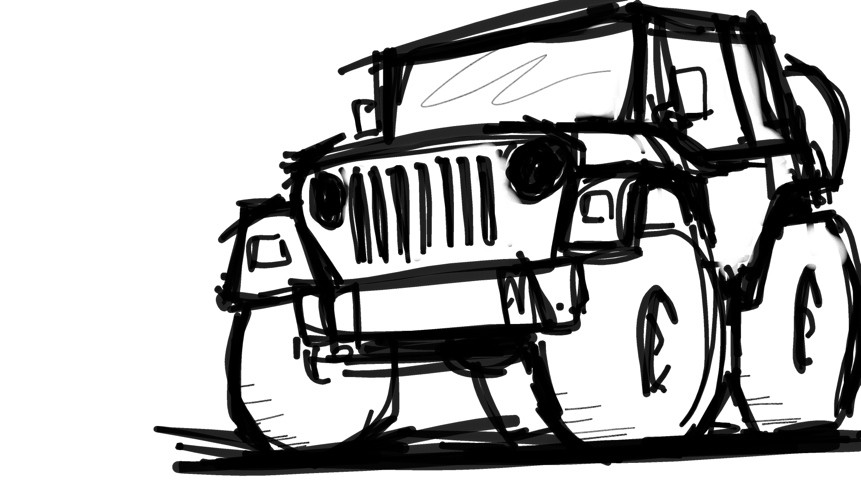 Jeep Wrangler Clipart Free Download Best Jeep Wrangler Clipart On