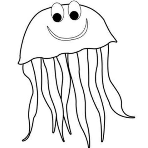 Jellyfish Outline Free download