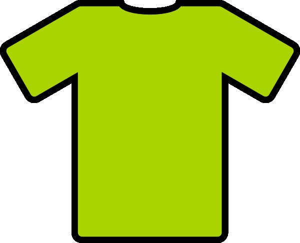 600x486 Green T Shirt Clip Art
