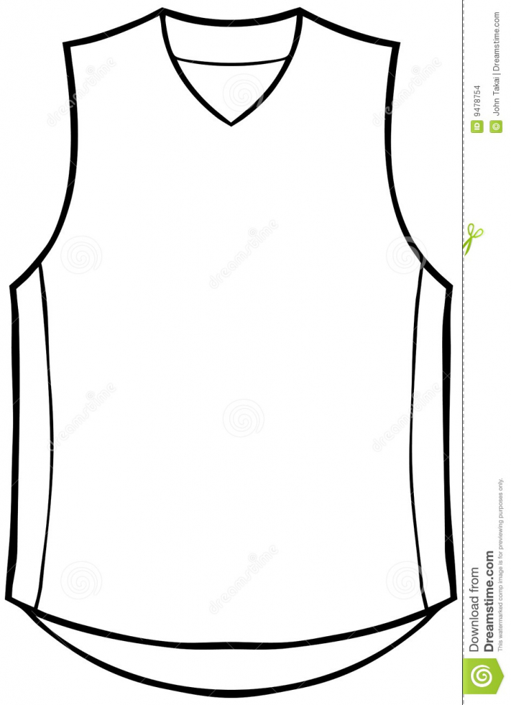 742x1024 How To Draw A Basketball Jersey Football Jersey Basketball Jersey