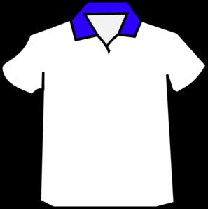 297x298 Blue Shirt Colar Png, Svg Clip Art For Web