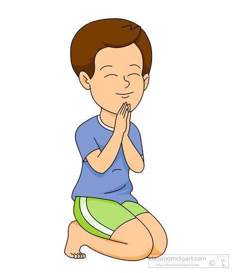 471x550 Praying Children Clipart