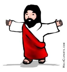 279x300 Top 86 Jesus Children Clip Art