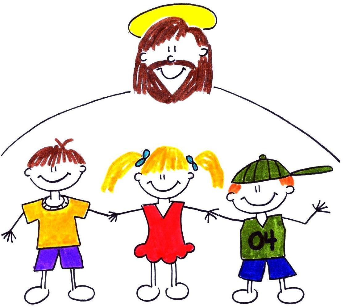 1131x997 Jesus With The Children Clipart
