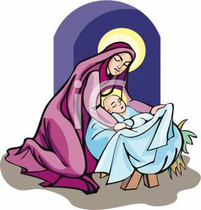 287x300 Image Mother Mary And Baby Jesus